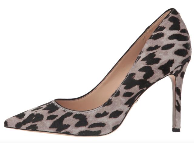 Sam Edelman Hazel Womens Grey Leopard