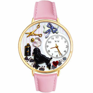 Image is loading Dog-Groomer-Watch-w-Personalized-Miniature-Gifts