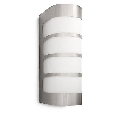 Philips mygarden Outdoor Lámpara pared exteriores Fence Luz De Linterna