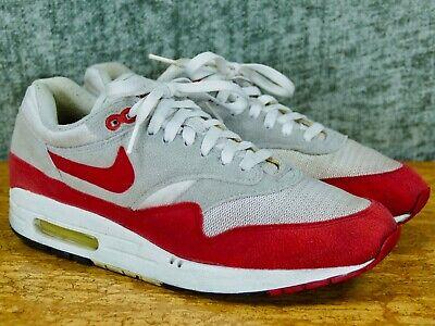 Nike Air Max 1 Classic 9 HOA whitesport red neutral grey retro 2005 313097 161 | eBay