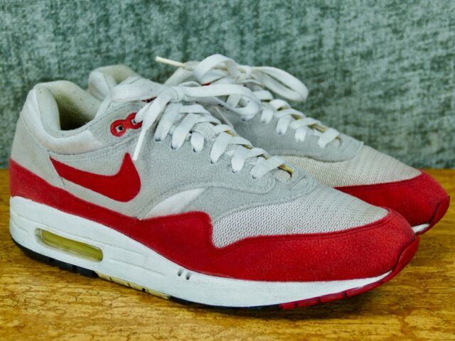 Nike Air Max 1 Classic 9 HOA whitesport red neutral grey retro 2005 313097 161