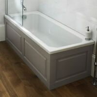 Traditional Bath Bathroom 1700 X 700 Bath Art Deco Straight Square Bath