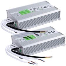 2pcs Led Strip Waterproof Ip67 Led Driver Power Supply Transformer Dc 12v 200w