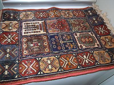 Viscose Prayer Rug Madras Belgian Made