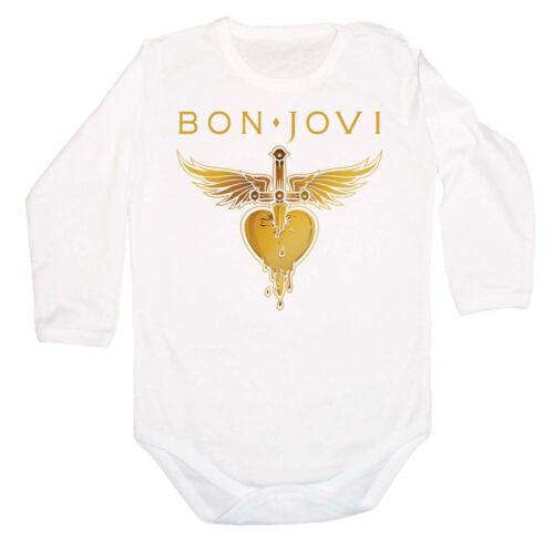 BON JOVI 3 FUN LANGARM+ BABY BODY BODYSUIT KURZARM