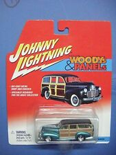 JOHNNY LIGHNING WOODS & PANELS '41 CHEVY SPECIAL DELUXE WAGON