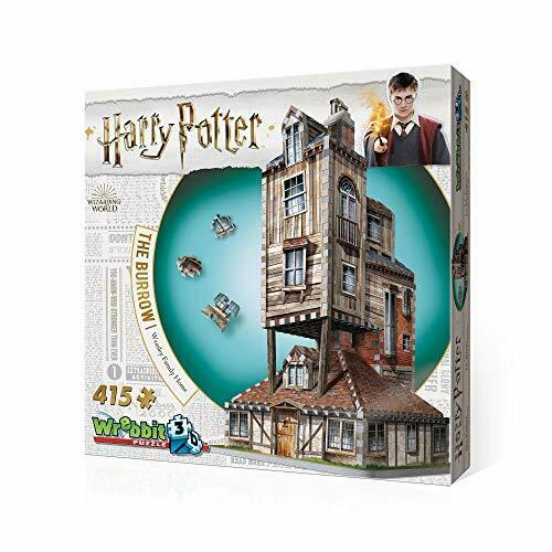 Harry Potter collezione Weasley Family Home ThreeDiessisional Puzzle GenuinefS