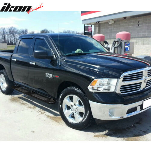 Fits 09-16 Dodge Ram Crew Cab 82inch OE Style Step Bars Running Boards Black