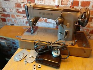 Singer-306k-Zigzag-sewing-Machine-serviced-video-PAT-tested