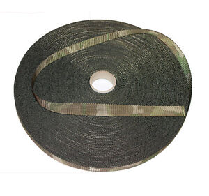 NEW 19mm Double Sided MTP /Multicam Camouflage Military Spec Webbing - UK Woven