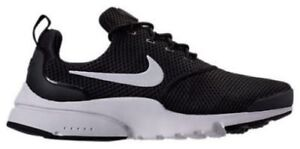 6acd3b445bc3 NIKE PRESTO FLY WOMEN s BLACK - WHITE AUTHENTIC CASUAL BRAND NEW IN ...