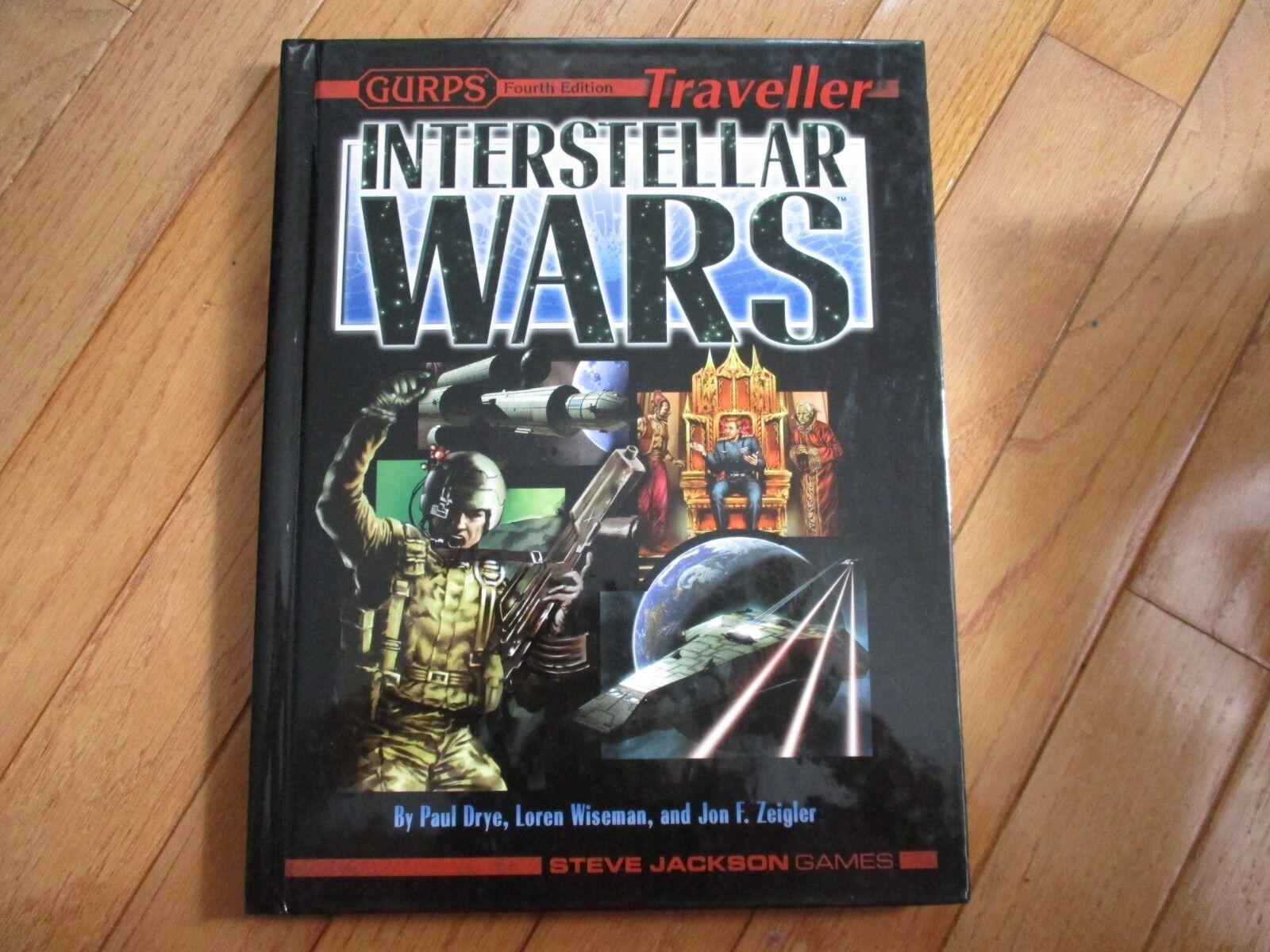 Tu satisfacción es nuestro objetivo GURPS GURPS GURPS 4th edición viajero interestelar guerras  ¡No dudes! ¡Compra ahora!