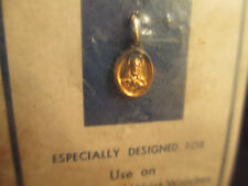 Wrist Watch Religous Metal Vintage Sterling Silver in Original Package By CREED