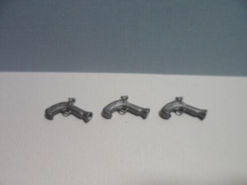 3 pistolets de pirate PLAYMOBIL Pistol 3029 3053 3127 3285 3286 3550 3799