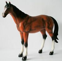 Horse Figurine Large 16 W X 14h Resin