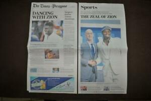 Zion-Williamson-Pelicans-1-Draft-New-Orleans-Times-Picayune-Newspaper-6-21-19