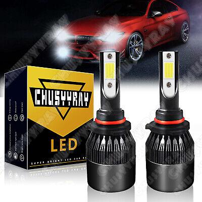 HB4 9006 COB LED Fog Light Bulbs Kit Canbus 100W For Lexus IS 200 LS 400 430