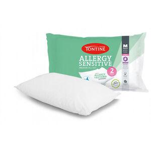 TONTINE LUXE Australian Merino Wool Pillow w// Organic Cotton Cover NEW RRP$69.95