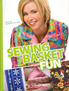 SEWING-BASKET-FUN-Sew-Projects-Hardcover-Book-NEW