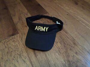 Military Combat Black Adjustable Cotton Security Baseball Cap Hat Sun Visor New