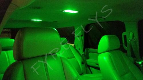 5x Green LED lights interior package kit for 2000-2005 Toyota Celica TC6G
