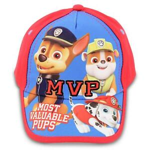 6283420e2 Details about Paw Patrol Boys Baseball Cap Toddler 3-5 Chase Marshall  Rubble Hat Adjustable