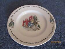 "VTG Wedgwood of Etruria & Barlaston Ltd. Peter Rabbit Salad/Dessert Plate 8"""