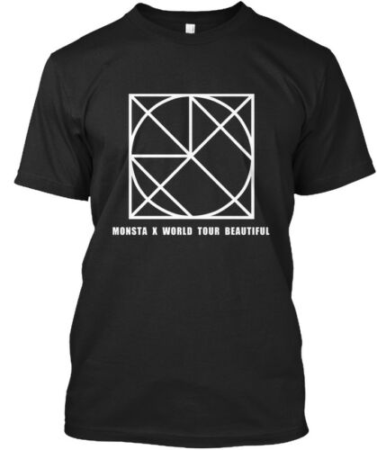 Monsta X BEAUTIFUL WORLD TOUR coupable V-Standard Unisexe T-Shirt