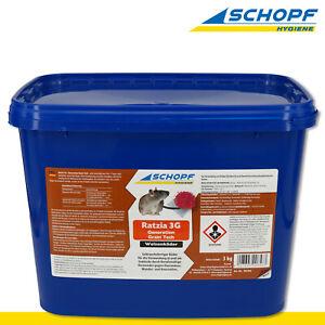 Schopf Hygiene 3 kg Ratzia 3G – Generation Grain Tech | Weizenköder