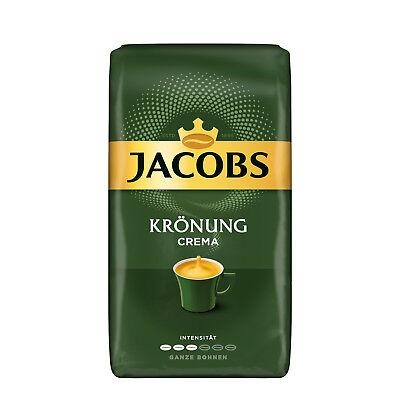 JACOBS Krönung Crema Kaffee Ganze Bohne 1kg Kaffeebohnen