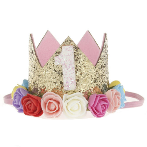 Girl Birthday Gifts Festival Party Baby Headwear Headband Hair Band Crown UK HOT