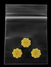 2x2 Clear Reclosable Mini Zip Lock Baggies 2 Mil Storage Plastic Bags 2000 2x2