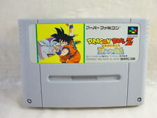 DRAGON BALL Z Saiya Densetsu Super Famicom Nintendo Video Game Cartridge sfc