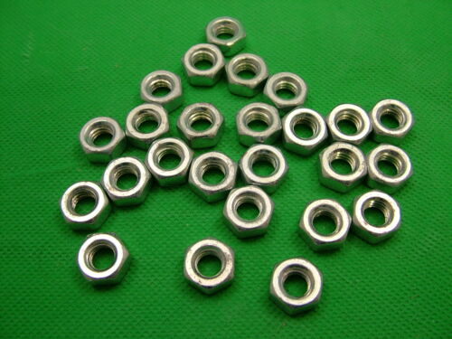 """pack of 25 steel,bright zinc plated Hexagon nut 5//16/"""" Whitworth BSW Imperial"""