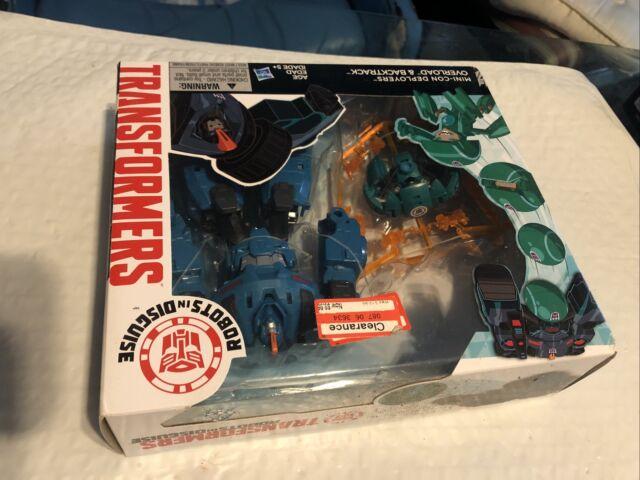 Hasbro Transformers Mini-CON DEPLOYERS OVERLOAD and BACKTRACK New