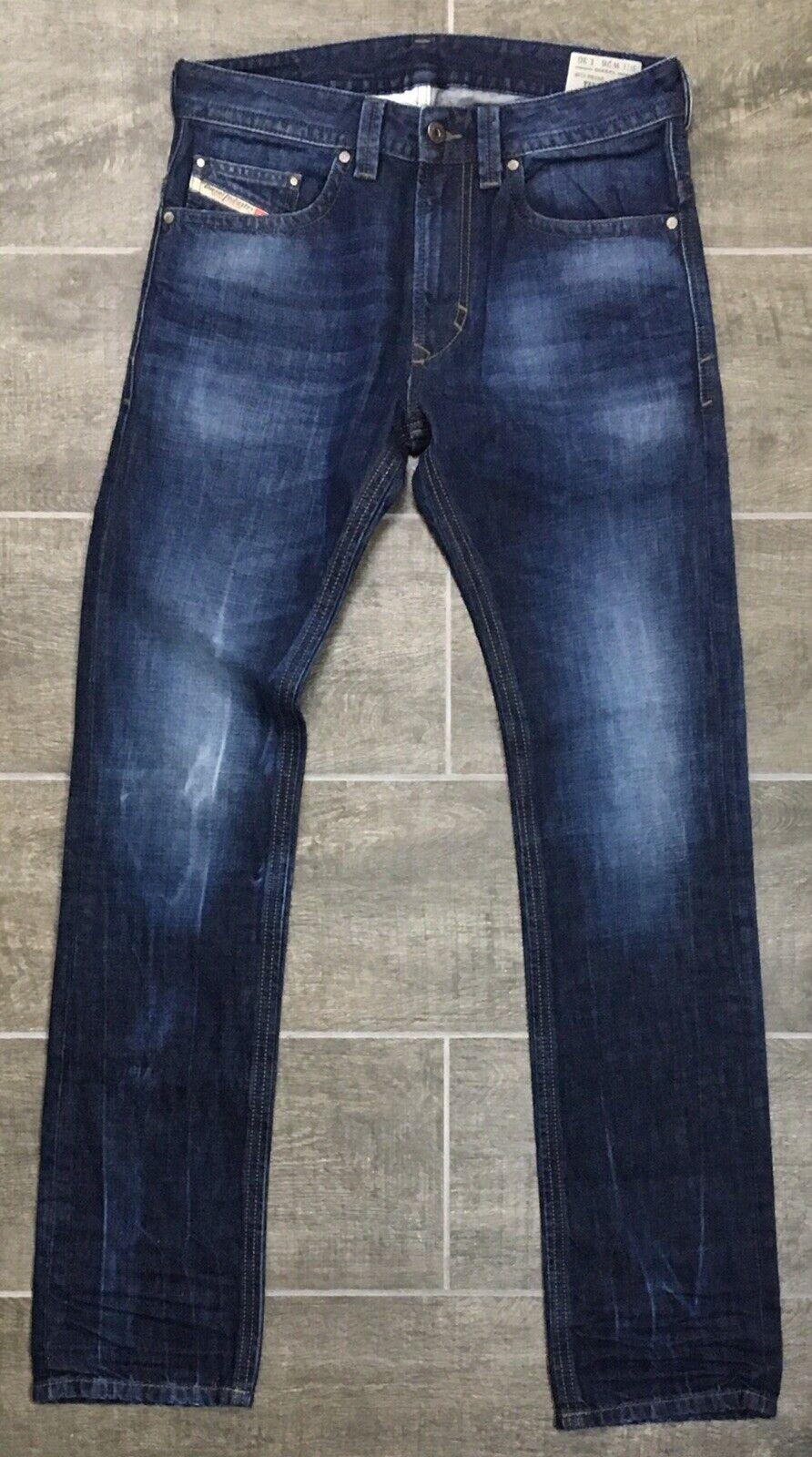 Diesel Jeans THAVAR Hombres  W26 lavado Ceñido Ajustado L30 R831Q Azul Denim  198 Nuevo con etiquetas  Ahorre 35% - 70% de descuento
