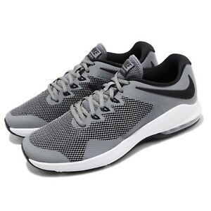 Nike Air Max Alpha Trainer Grey Black White Men Cross Training Shoes ... 9d0a012c1