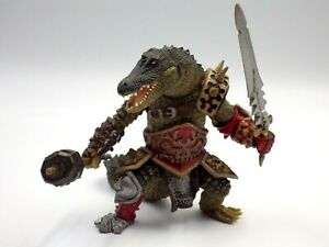 Figurine PAPO 2008 statuette10 cm pvc Monde Fantastique Mutant Crocodile