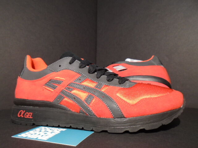 2012 ASICS GT-II 2 GEL-LYTE III BAIT RINGS PACK SUPER RED BLACK RONNIE FIEG 9.5