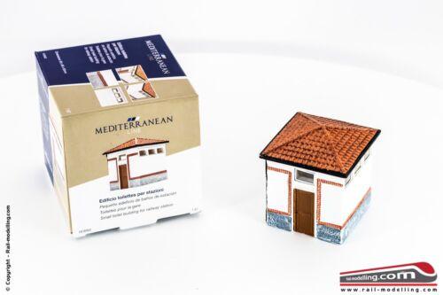 H0 1:87 Edificio toilettes per stazioni ferroviarie RIVAROSSI HC8062