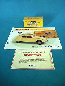 DINKY-TOYS-CITROEN-2-CV-MODELE-61-EDITION-ATLAS-558