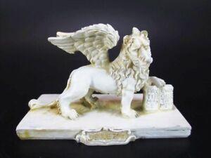 Markusloewe-Venedig-gefluegelter-Loewe-Venezia-Poly-Modell-Souvenir-Italien-Neu