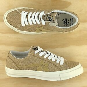 Converse One Star Ox Golf Le Fleur Tyler The Creator Burlap Shoes 163169c Size Ebay