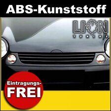 Grill ohne Emblem, Sportgrill, Kühlergrill, Frontgrill VW Lupo schwarz
