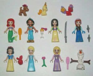 Lego-Minifigure-Figurine-Personnage-Disney-Princesse-Choose-Minifig-NEW