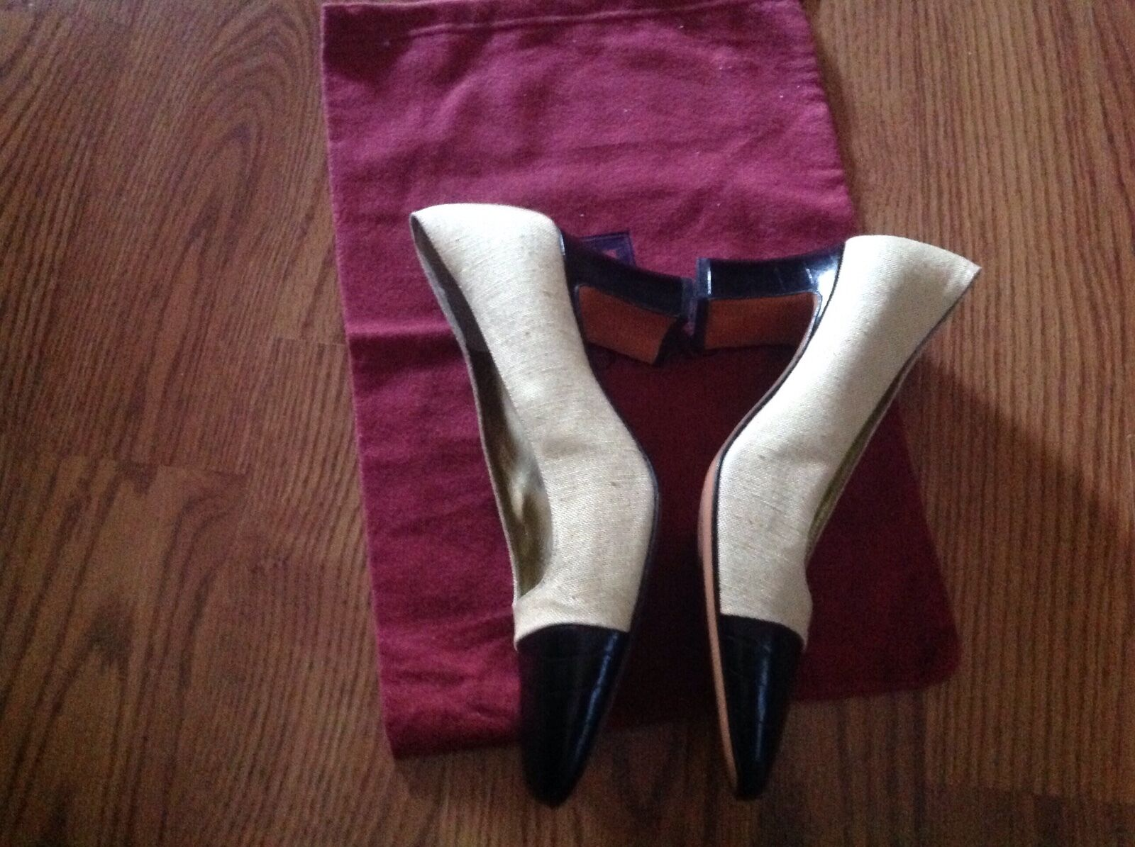 BRUNO MAGLI LINEN SHOES SHOES SHOES SIZE  7 AA b71a29