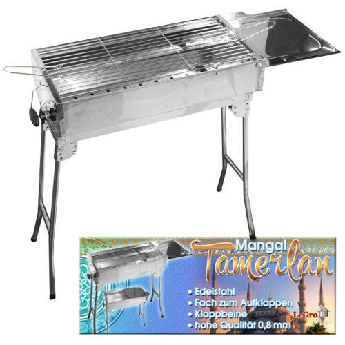 Grill /'Tamerlan/' BBQ Barbecue Schaschlik Mangal Picknick