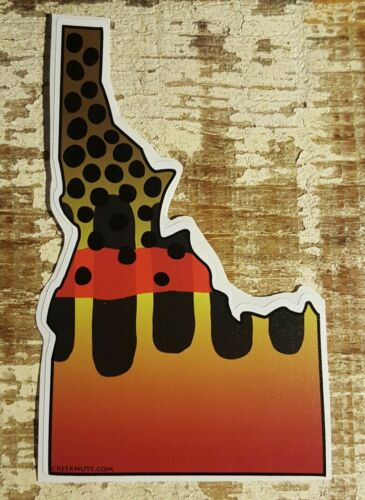 GOLDEN TROUT Stickers STATE CUT-OUTS fishing CA ID MT WV UT WA fly fishing DECAL
