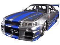 Brian's Nissan Skyline Gtr R34 fast & Furious  Movie 1/24 By Jada 97158