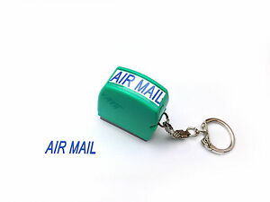 10mm x 27mm AIR MAIL or Personalised Text Name Signature Flash Stamp Self Inking